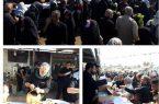 تلاش خادمان حسینی اوقاف در خدمت رسانی به زائران اربعین در ۱۰ محور