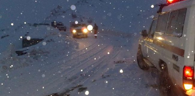 آموزش نکات ایمنی در سرمای شدید بارش برف و کولاک