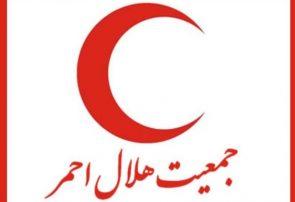 حمله اغتشاشگران به هلال احمر شهریار و آتش زدن ساختمان امدادی