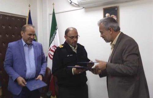 امضای تفاهم نامه همکاری میان کمیته امداد، نیروی انتظامی و اداره کل فنی و حرفهای کرمان