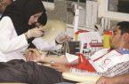 اهدای ۲ هزار واحد خون از طرف جوانان هلال احمر به بیماران نیازمند