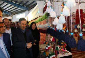 افتتاح ده غرفه دستاوردهای زنان سرپرست خانوار کمیته امداد کهگیلویه و بویراحمد | گزارش تصویری