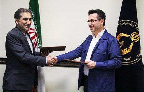 امضاء تفاهم نامه بین کمیته امداد و تاکسیرانی استان قم