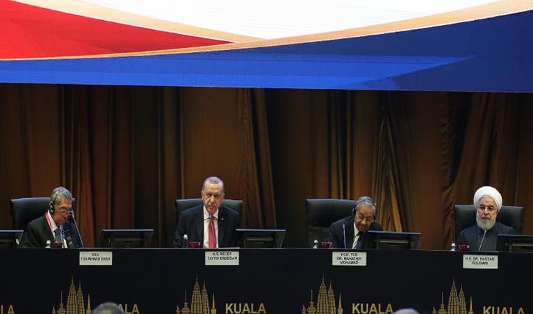 ایران قطر مالزی و ترکیه در اجلاس کشور های اسلامی