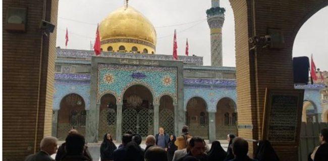 حضور اولین کاروان زائران ایرانی در دمشق سوریه بعد از نابودی داعش +عکس