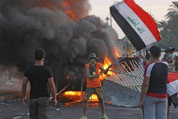 ناآرامی ها و اغتشاشات در عراق
