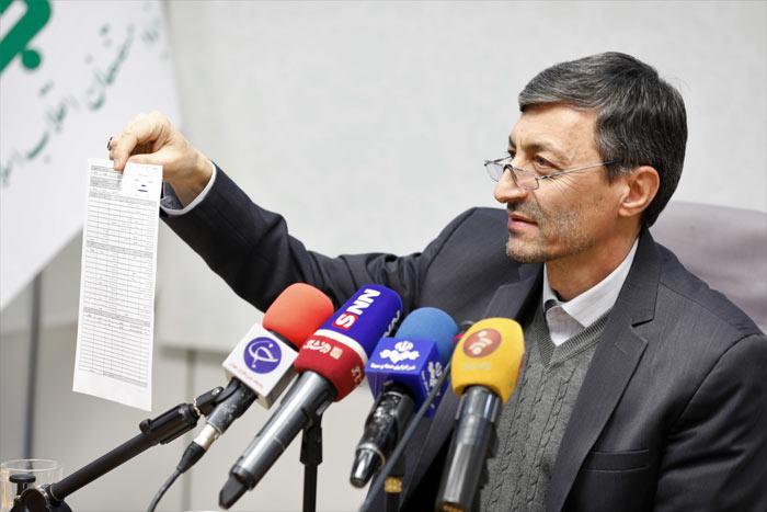 پرویز فتاح در نخستین نشست خبری رئیس بنیاد مستضعفان انقلاب اسلامی / فیش حقوقی