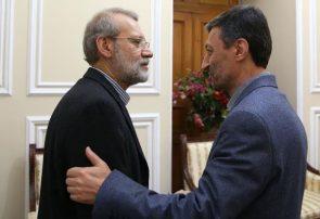 دیدار فتاح رئیس بنیاد مستضعفان با لاریجانی رئیس مجلس | گزارش تصویری