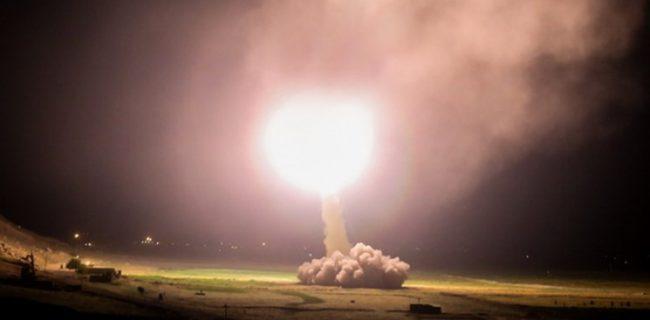انتقام سخت ایران / حملات سنگین موشکی سپاه به پایگاه آمریکایی عینالاسد
