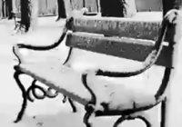 خوابیدن یک بی خانمان زیر برف ! | فیلم