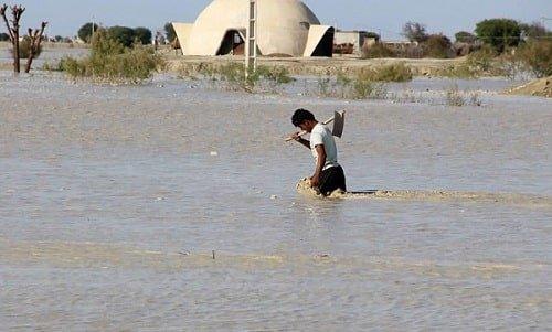 حضور نیروهای جهادی و وضعیت سیل در سیستان و بلوچستان | گزارش تصویری