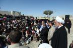 روحانی: در کنار مردم مناطق سیل زده استان هستیم و مشکلات آنان را حل خواهیم کرد