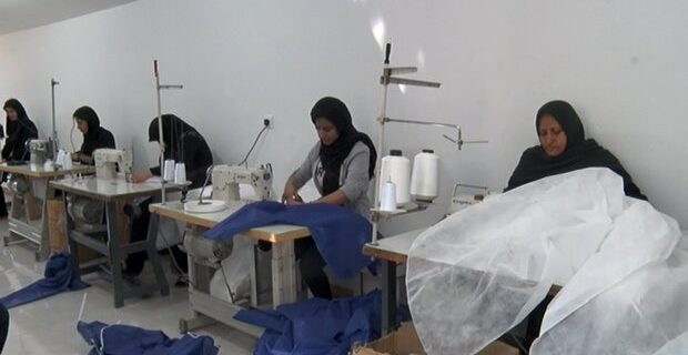 تلاش برای ایجاد کارگاه تولید لباس یکبار مصرف پزشکان در بقاع متبرکه کرمانشاه