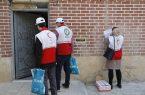 همکاری بیش از ۴۲ هزار داوطلب با هلال احمر برای شکست کرونا