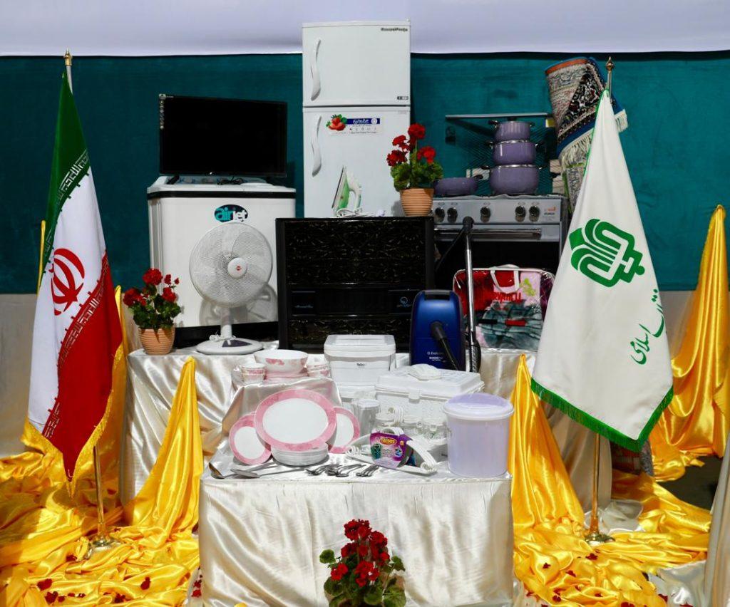 تامین جهیزیه تمام نوعروسان یتیم تحت پوشش کمیته امداد و بهزیستی کشور توسط بنیاد مستضعفان